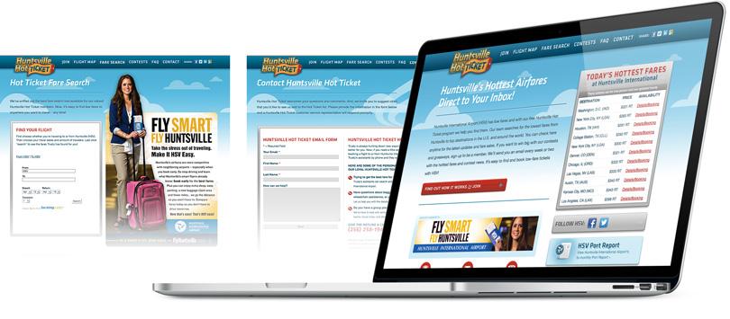 HuntsvilleHotTicket.com website