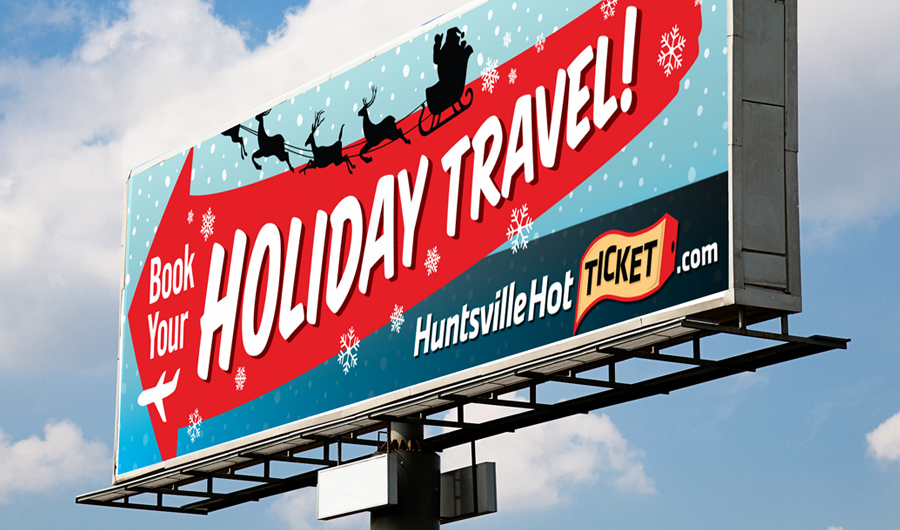 HSV Holiday Travel Billboard