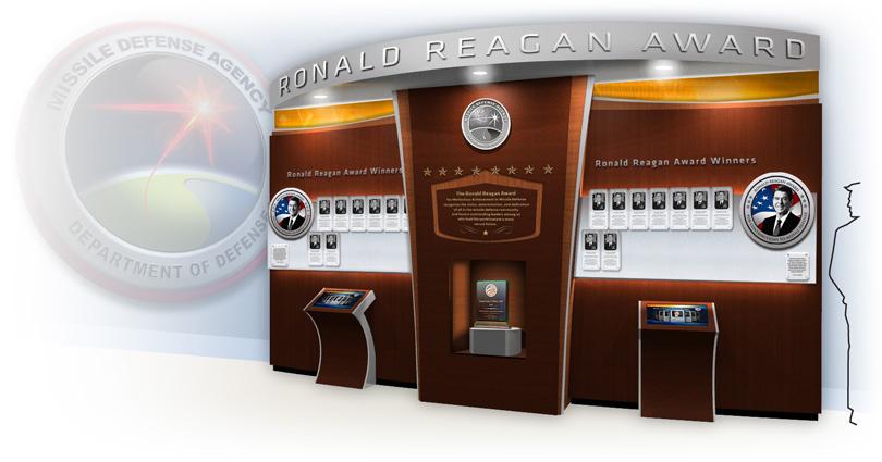 MDA Reagan Award Winner Wall