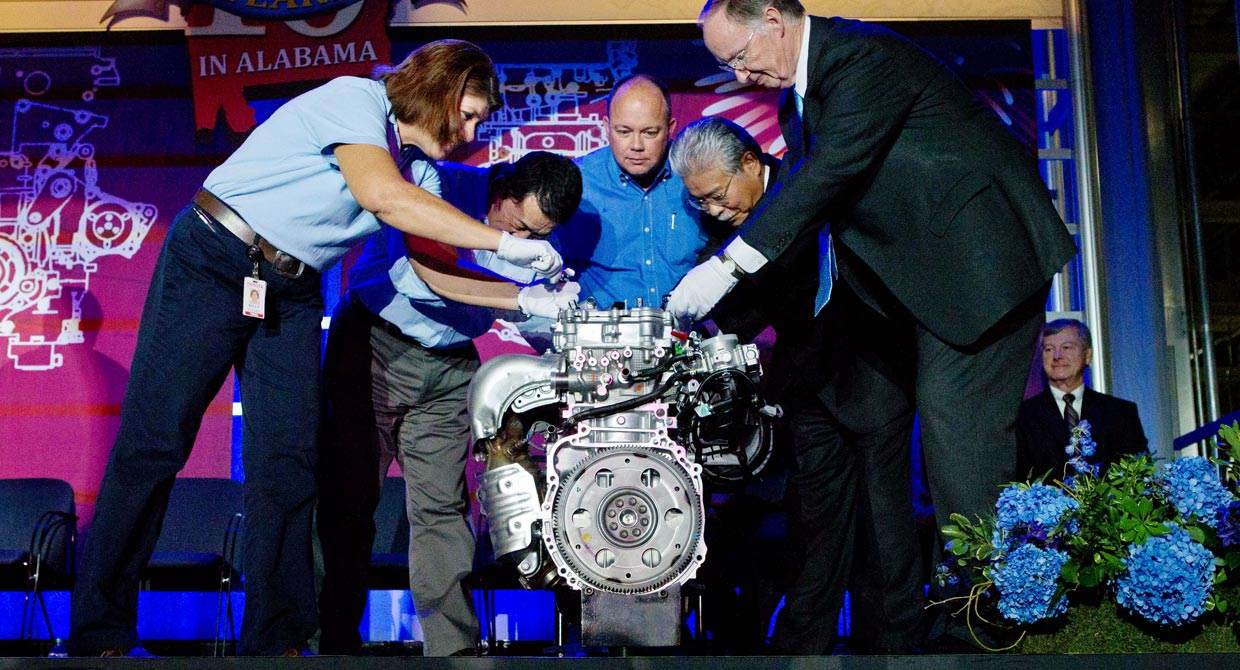 Toyota Motor Manufacturing 4-Cylinder Event
