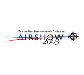 Huntsville International Airport Airshow logo