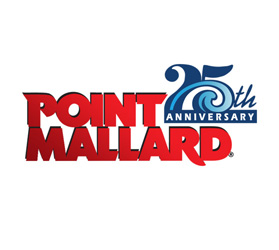 Point Mallard 25th Anniversary logo