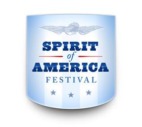 Spirit of America Festival logo