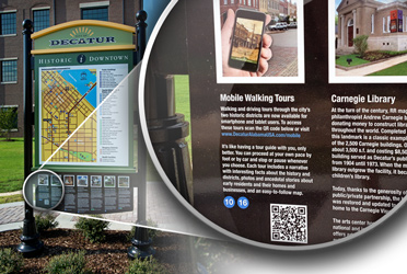 City of Decatur Mobile App QR Codes