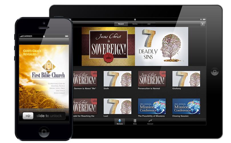 First Bible Church app
