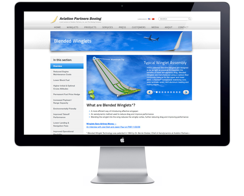 AviationPartnersBoeing.com winglets page