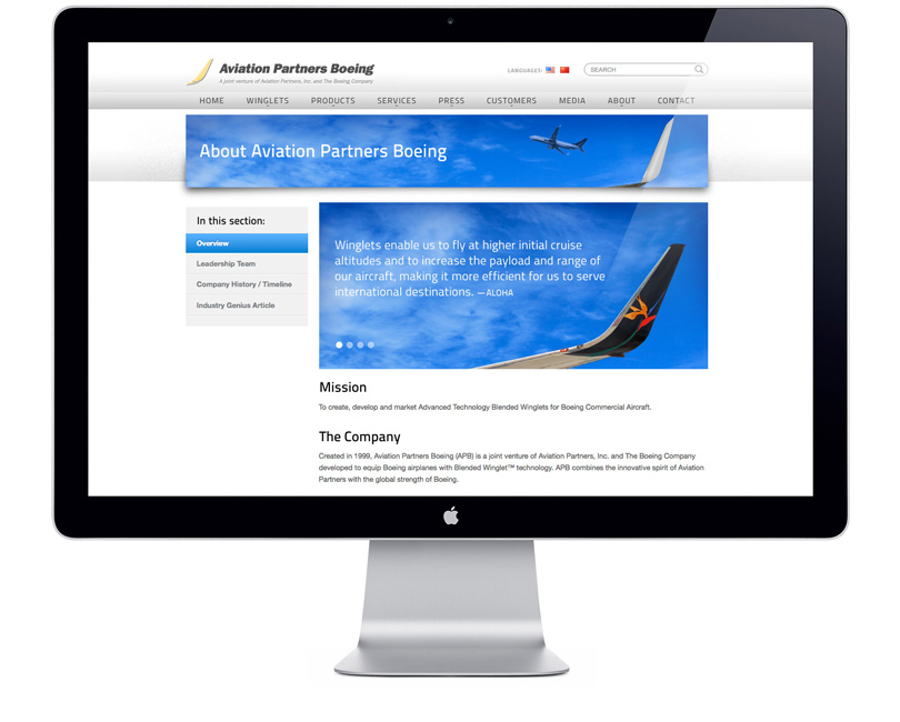 AviationPartnersBoeing.com about page