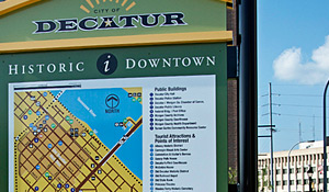 Decatur Wayfinding Signage