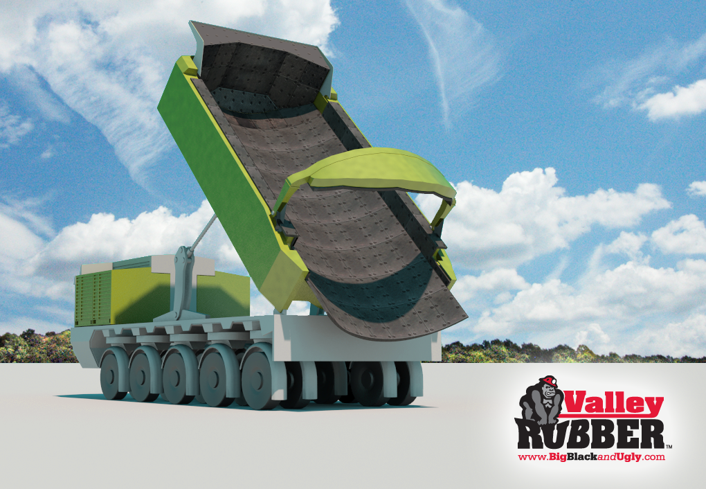 Valley Rubber Haul Truck Liner Concept