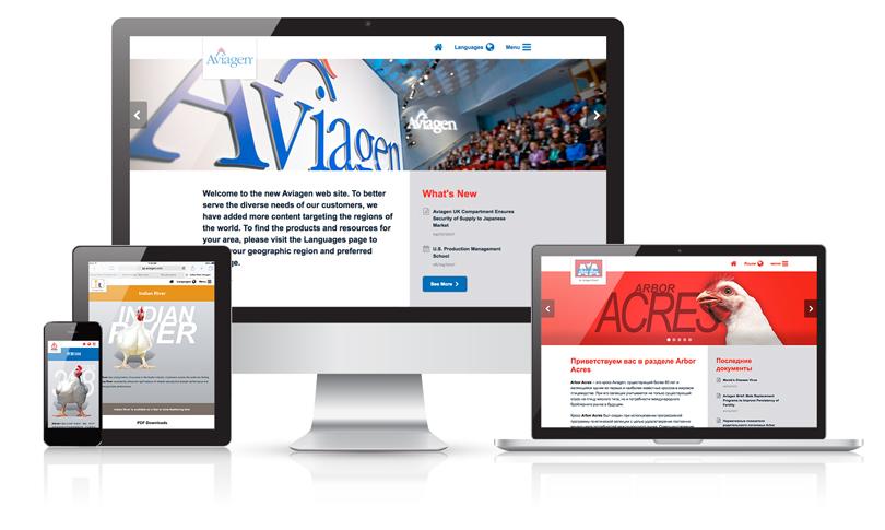 Aviagen.com website