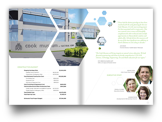 Cooks Museum Pocket Brochure