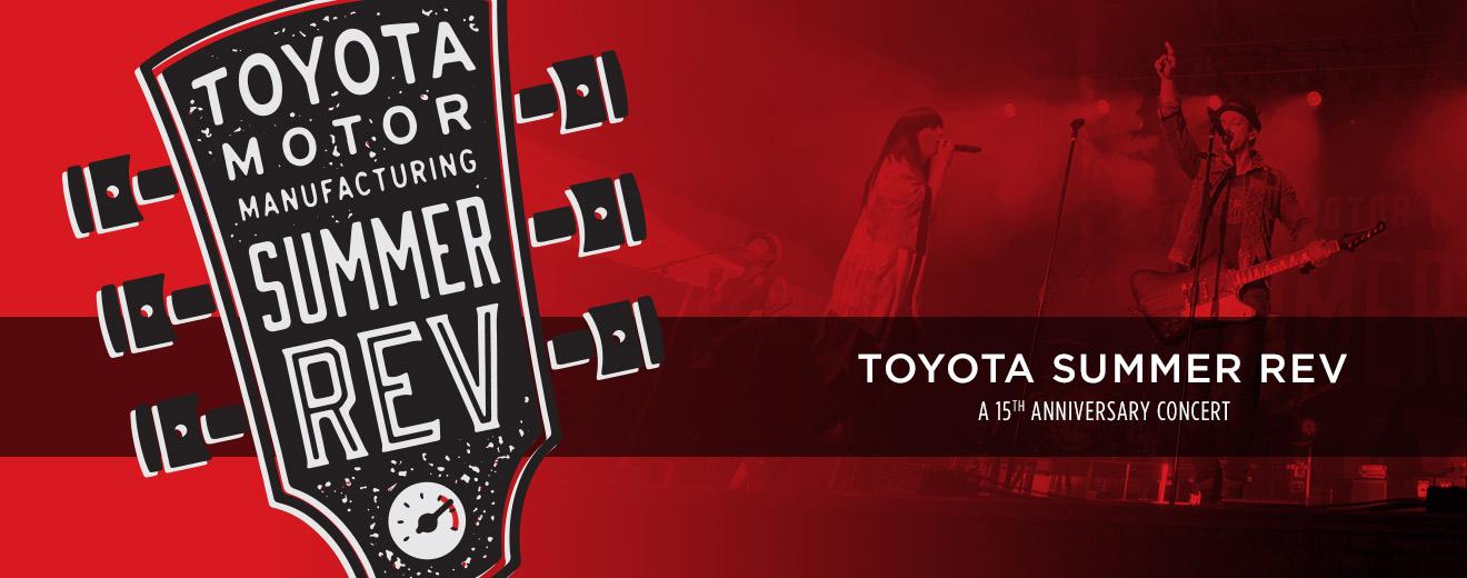 Toyota Summer Rev A 15th Anniversary Concert