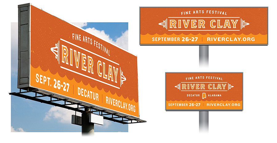 River Clay Billboard