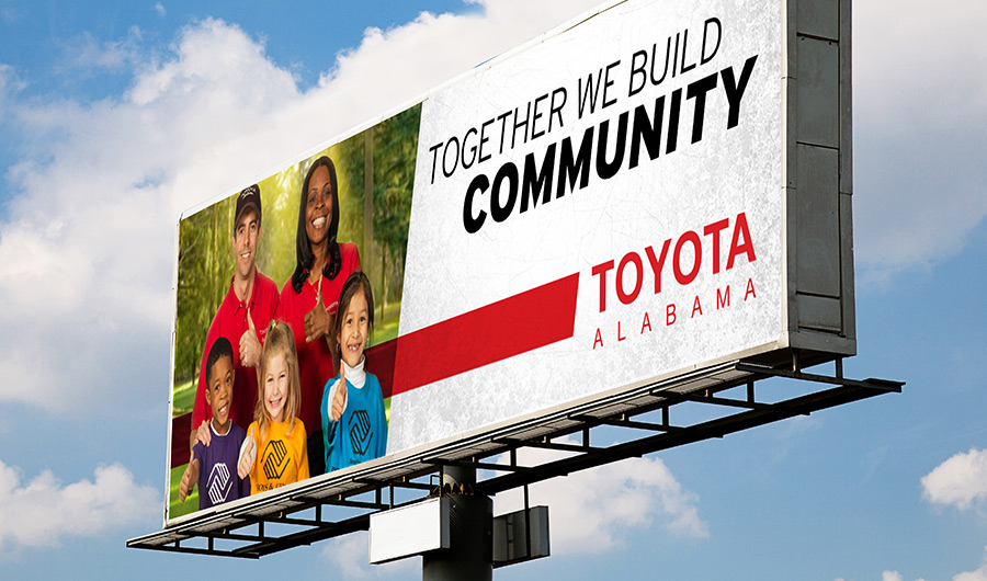 Toyota Community Billboard