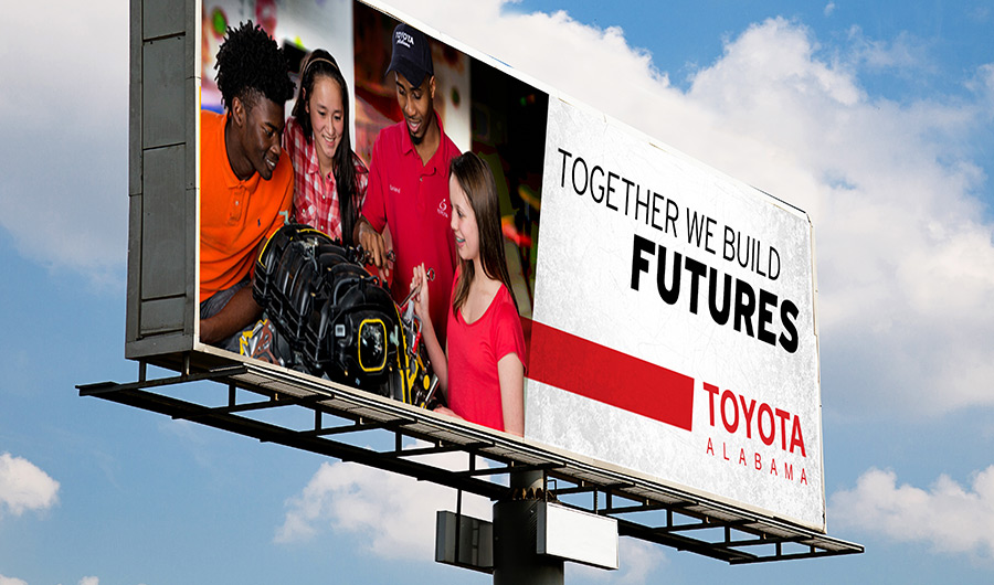 Toyota Future Billboard