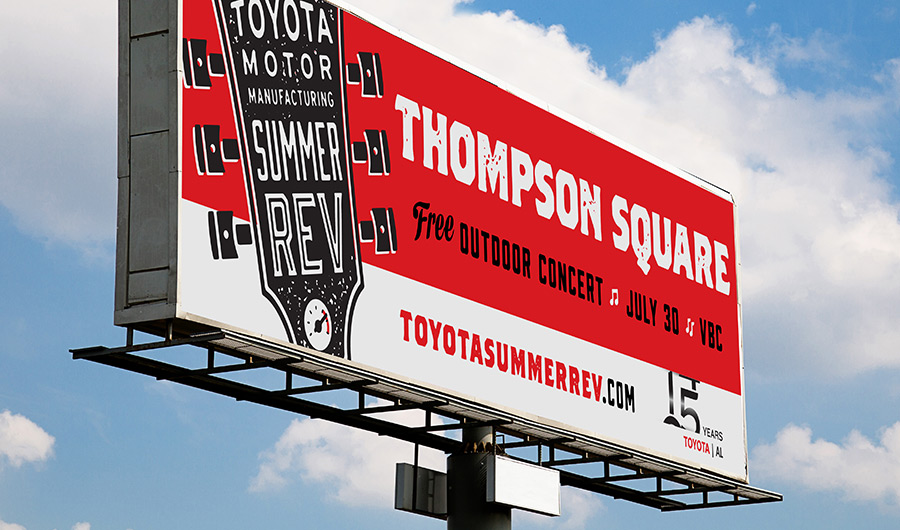 Toyota Summer Rev Billboard