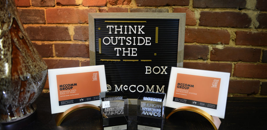 McComm Group work recognized at 2020 Addy Awards